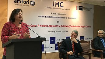 Menschenrechtsbeauftragte Kofler in Indien