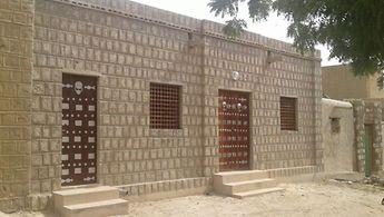 Die wiederaufgebaute Bibliothek Cheikna Sidali in Timbuktu