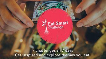 Nehmen Sie am #EatSmartChallenge teil!
